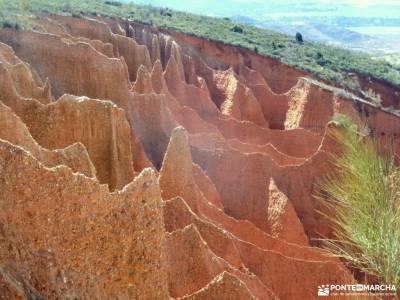 Cárcavas Alpedrete de la Sierra y Cerro Negro; viajes senderismo madrid excursiones desde un dia